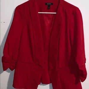 Torrid 3/4 length sleeve blazer